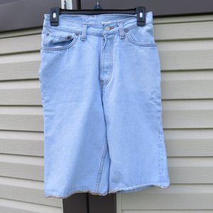 Vintage Levi's 501 USA Made Button Fly Shorts